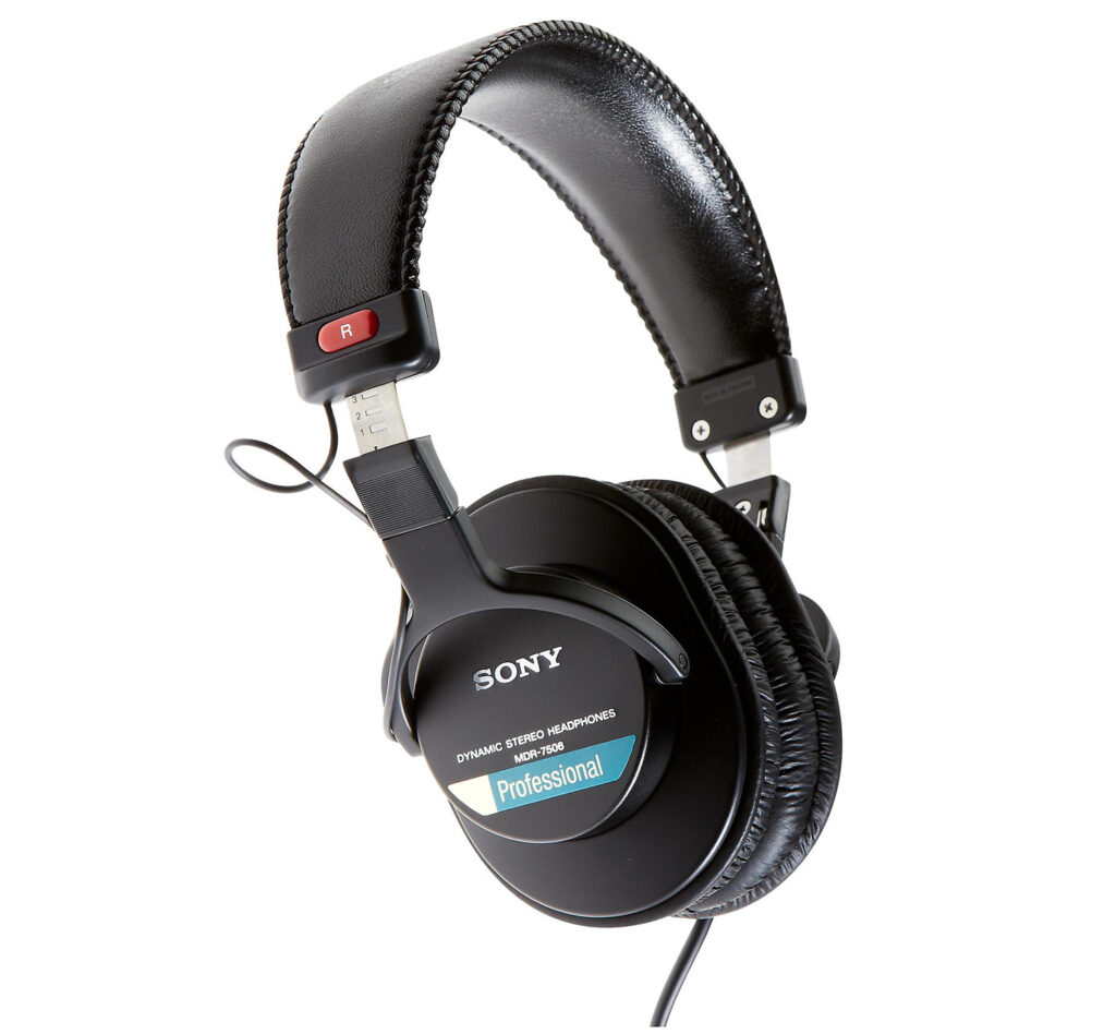 Sony 7506 Headphones